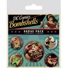 значок DC Comics Bombshells (набор)
