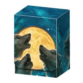 Коробочка Legion 3 Wolfs Deck Box (пластиковая, на 80+ карт)