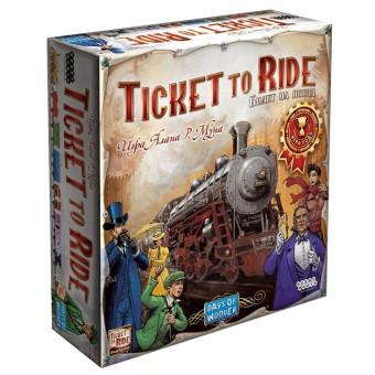 настольная игра Билет на Поезд: Америка / Ticket to Ride