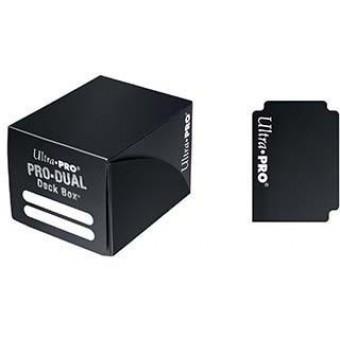 Коробочка Ultra-Pro Pro Dual (пластиковая, на 120 карт) Черная