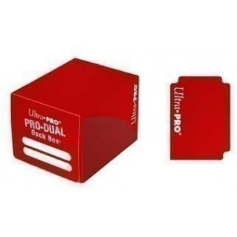 Коробочка Ultra-Pro Pro Dual (пластиковая, на 180 карт) Красная