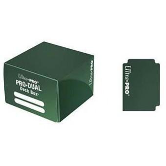 Коробочка Ultra-Pro Pro Dual (пластиковая, на 120 карт) Зеленая
