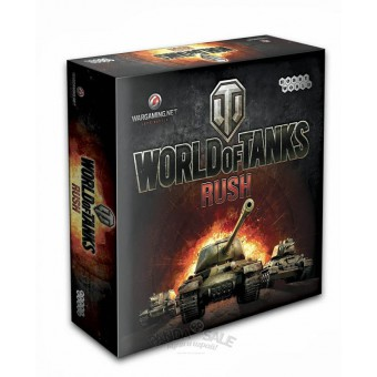 настольная игра World of Tanks Rush (новая версия)