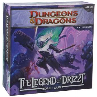настольная игра D&D Board: The Legend of Drizzt / Легенда о Дзирте